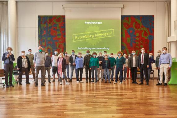 Gruppenbild der Aufstellungsversammlung 2021